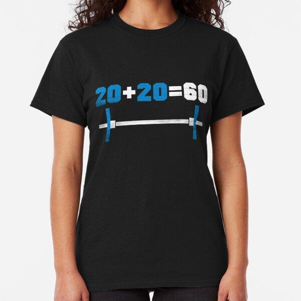 gym numbers Camiseta clásica