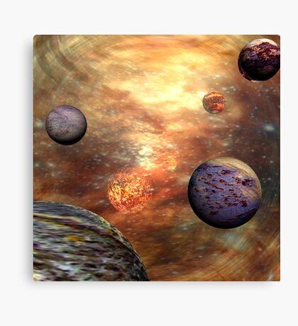 Temporal Imbalance - Time Slip Canvas Print