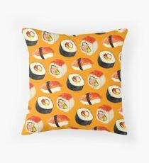 Cojín de suelo Patrón Sushi - Naranja