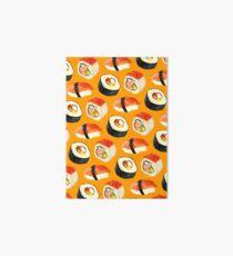 Lámina de exposición Patrón Sushi - Naranja