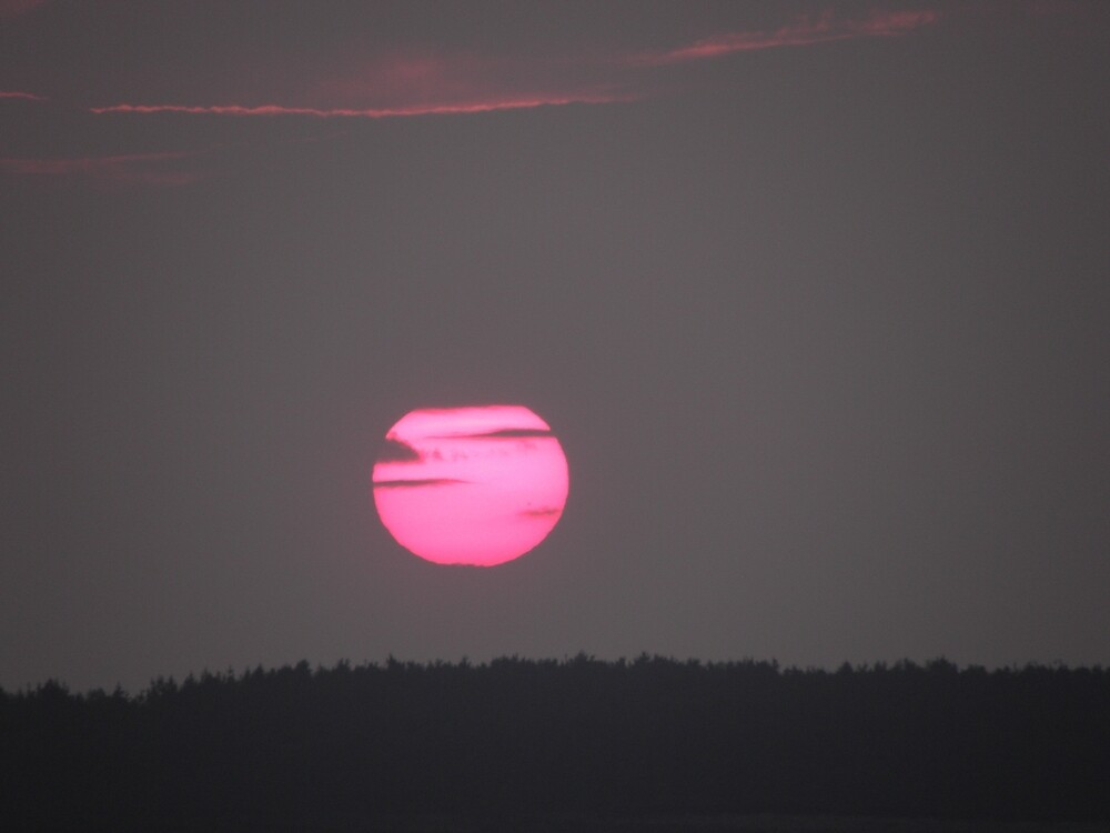 Setting sun over Donegal- Ireland  by mikequigley