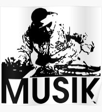 Musik DJ Poster