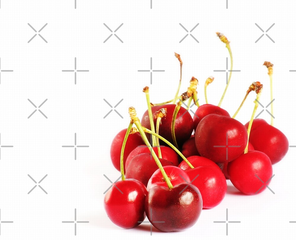cherry red by Ingrid Beddoes