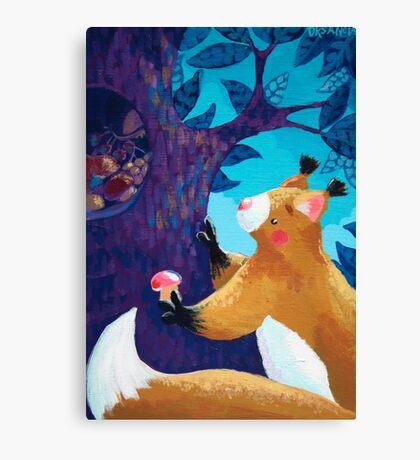 Thrifty Squirrel Canvas Print