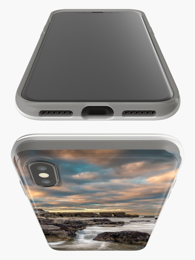 Alternate view of Rocky Beach Sunset At Seaview Isle Of Wight iPhone Cases & Covers