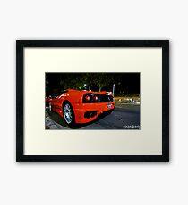 Ferrari 360 Challenge Stradle Framed Print