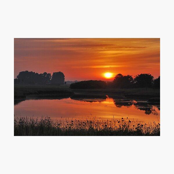 July sunrise near Renesse Photographic Print