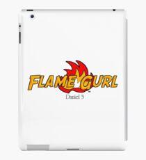 Adventure Flame Gurl iPad Case/Skin