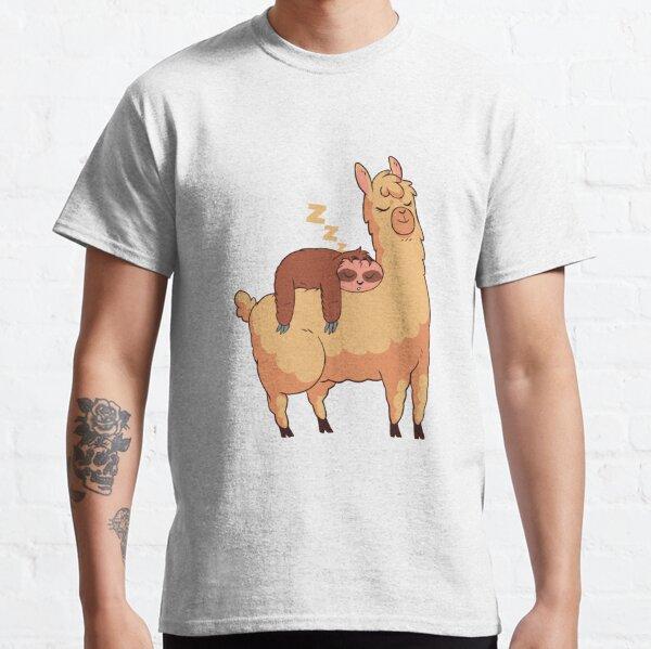 Sloth and Llama Classic T-Shirt