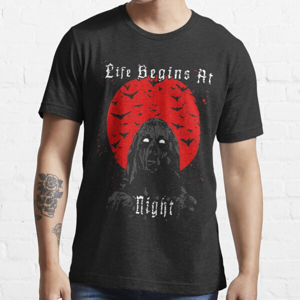 Life Begins At Night Essential T-Shirt