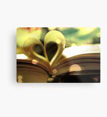Book Love Metal Print