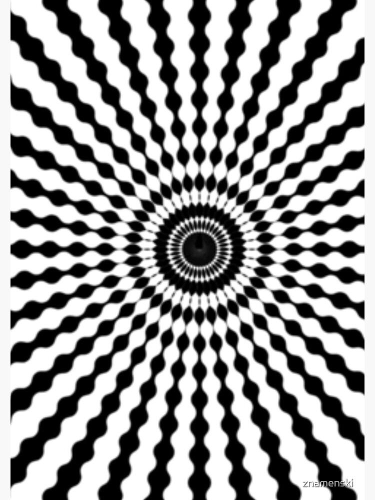 #monochrome #symmetry #circle #pattern design illustration abstract geometric shape by znamenski