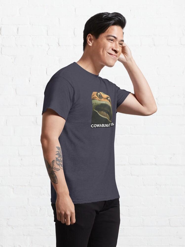 Alternate view of cowabunga Classic T-Shirt