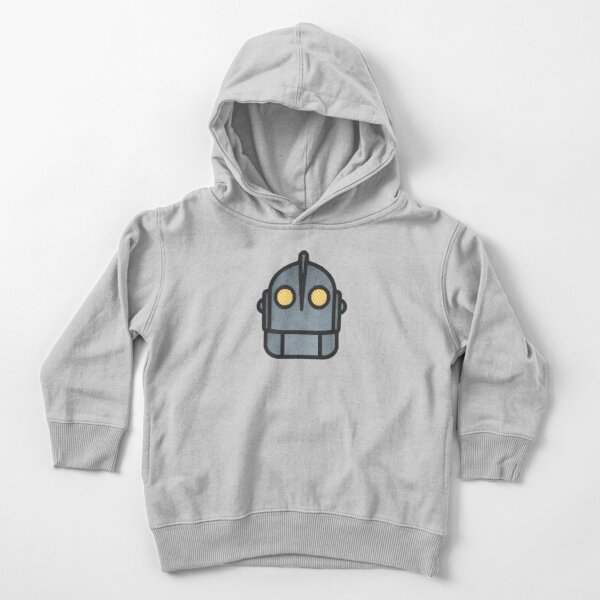 Iron Giant Head Toddler Pullover Hoodie