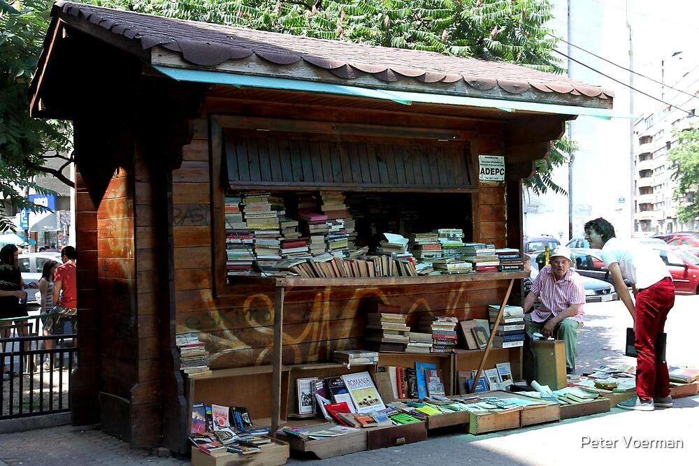 Bucharest book shop by Peter Voerman