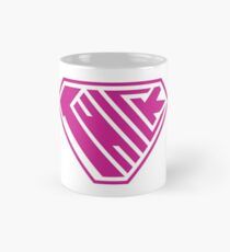Thick SuperEmpowered (Pink) Classic Mug