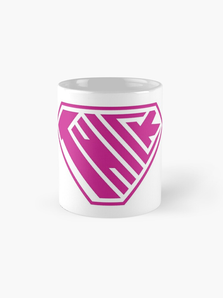 Alternate view of Thick SuperEmpowered (Pink) Mugs