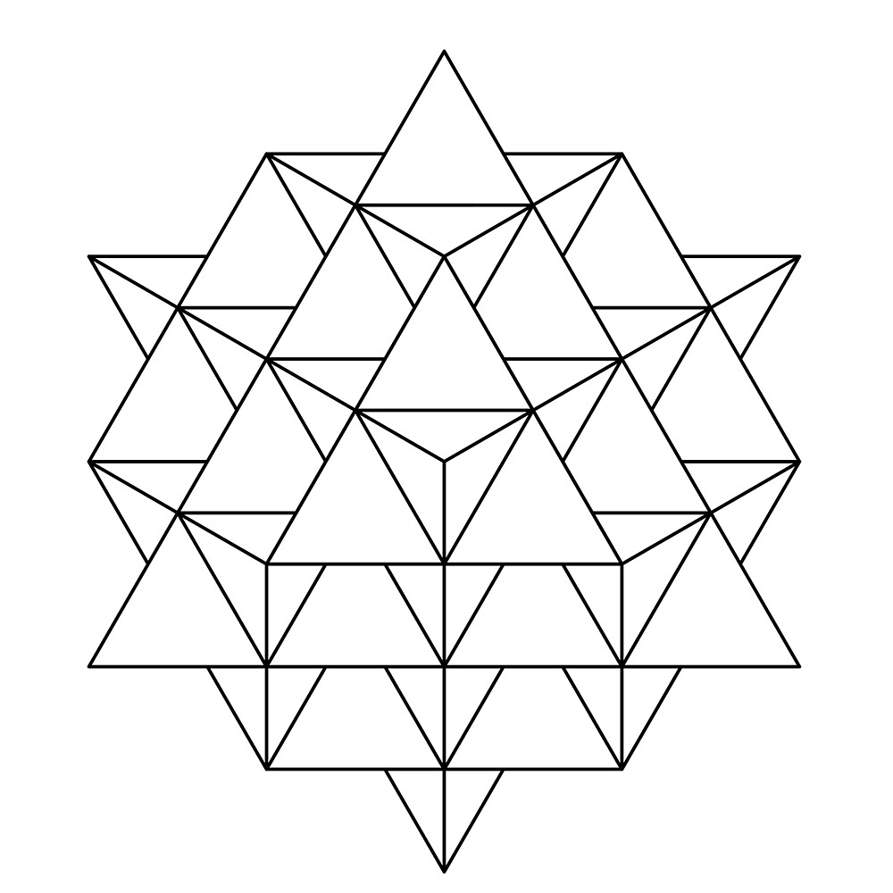 64 Tetrahedron by Rupert Russell