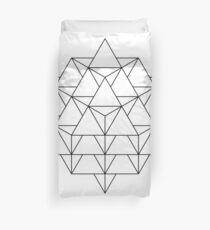 64 Tetrahedron Duvet Cover