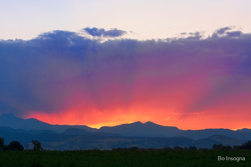 Sunset Burning Rays by Bo Insogna