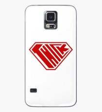 Thick SuperEmpowered (Red) Case/Skin for Samsung Galaxy