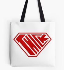Thick SuperEmpowered (Red) Tote Bag