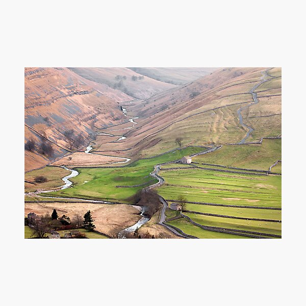 Cowside Beck & Brootes Lane Photographic Print