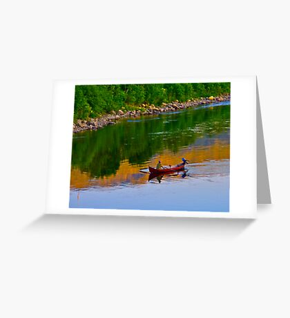 The Queen of Salmon Rivers - Namsen - Norway. by Brown Sugar . Views (446) . Favs (4) Waaaaws !!! Thank you friends !!! Greeting Card
