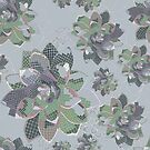 Succulent Mosaic by kathy-o