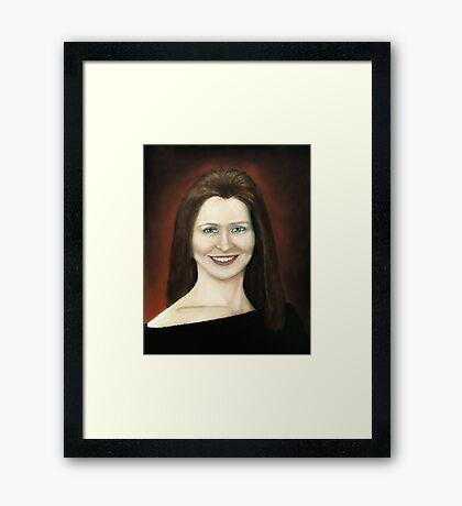 Portrait of Fulya Framed Print