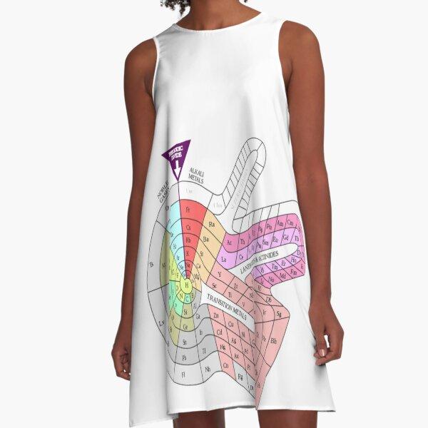 Periodic trends #PeriodicTrends #Periodic #Trends A-Line Dress