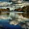 Clouds Reflected in a River or Lake