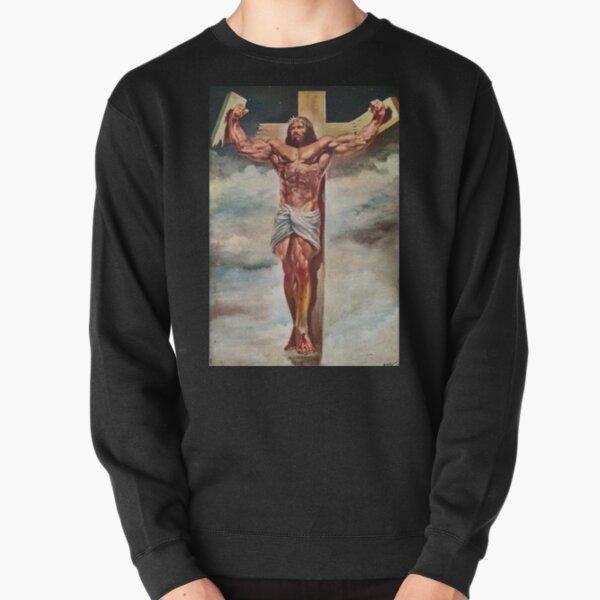 Musculo jesucristo Sudadera sin capucha
