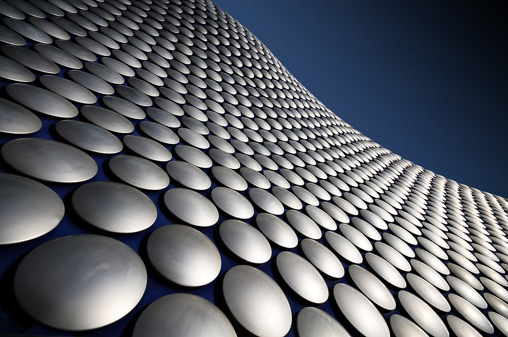 My take on the Selfridges building, Birmingham by Stewart  Hardy