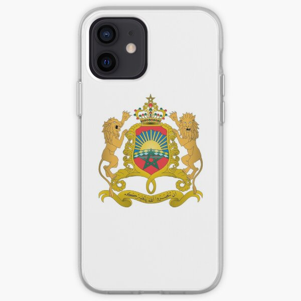 Coat of Arms of Morocco iPhone Soft Case