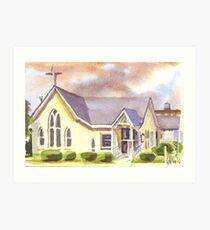 First Presbyterian Church, Ironton, Missouri Art Print