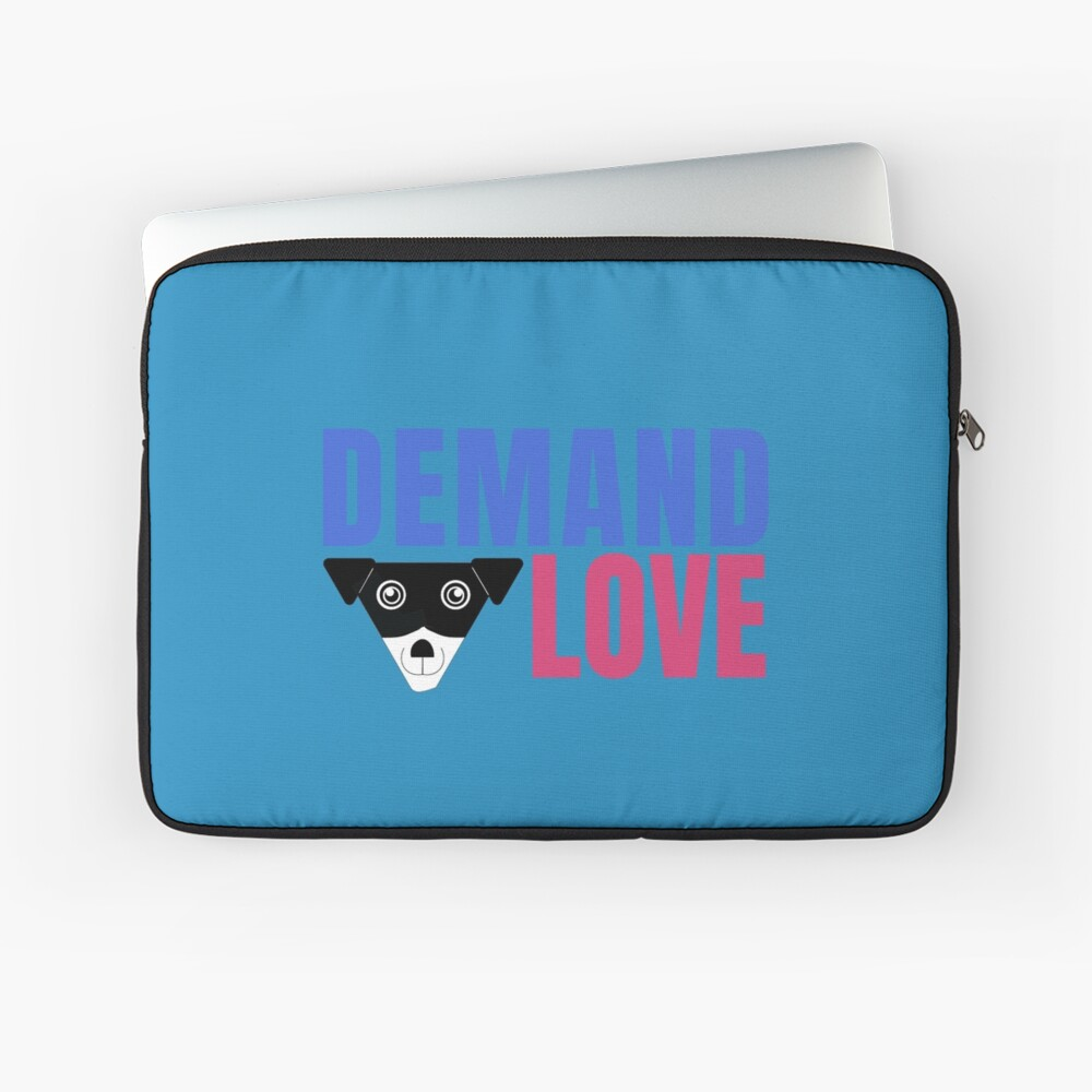 Carl Demands Love | Demand Love! Laptop Sleeve