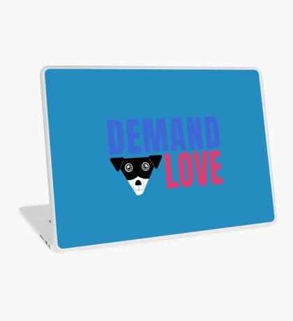 Carl Demands Love | Demand Love! Laptop Skin