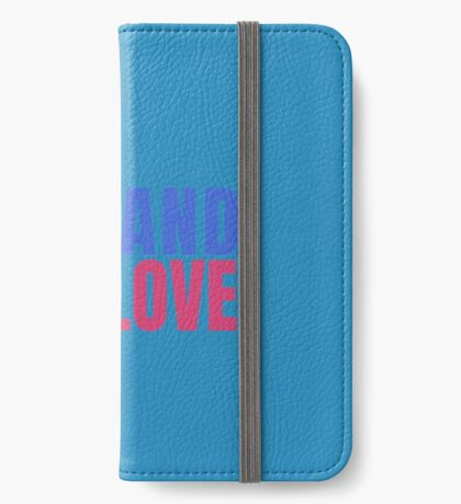 Carl Demands Love | Demand Love! iPhone Wallet