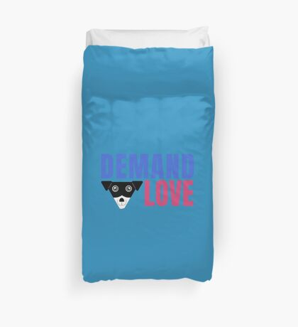 Carl Demands Love | Demand Love! Duvet Cover