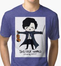 Sherlock is Not a Psychopath Tri-blend T-Shirt