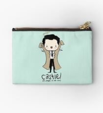 Castiel - Angel of the Lord Zipper Pouch