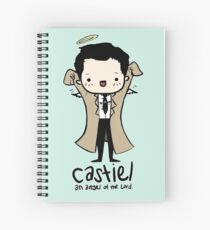 Castiel - Angel of the Lord Spiral Notebook
