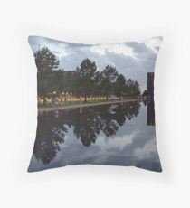 Floating Reflections -- Oklahoma City Memorial Throw Pillow