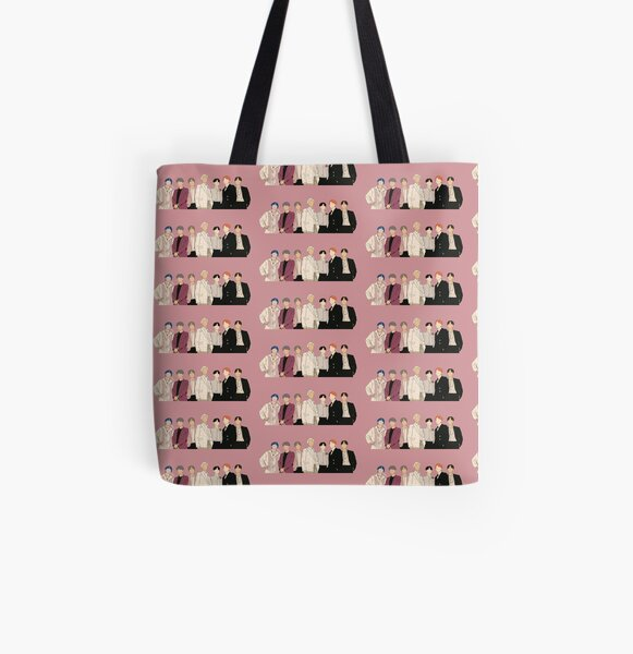 BTS Boy With Luv All Over Print Tote Bag