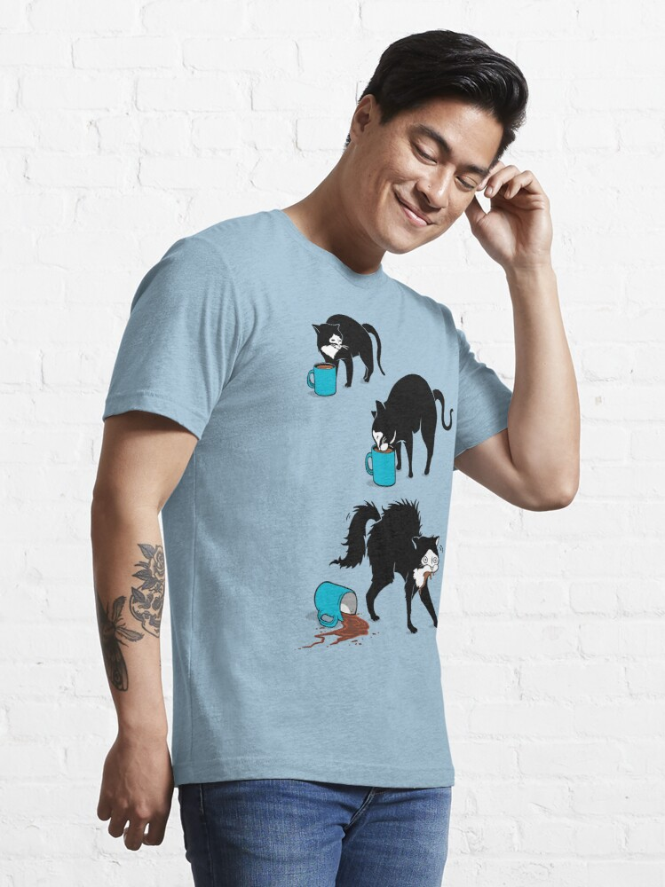 Alternate view of Coffee Cat Essential T-Shirt