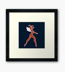 Hot Rod Angel Framed Print