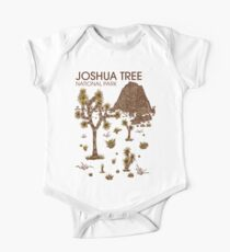 Body de manga corta para bebé Parque Nacional Joshua Tree