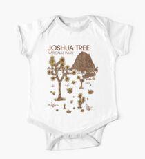 Joshua-Baum-Nationalpark Baby Body Kurzarm
