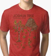 Camiseta de tejido mixto Parque Nacional Joshua Tree
